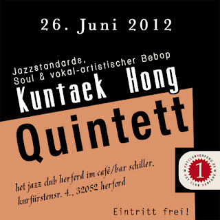 Kuntaek Hong quintett im Hot Club Herford