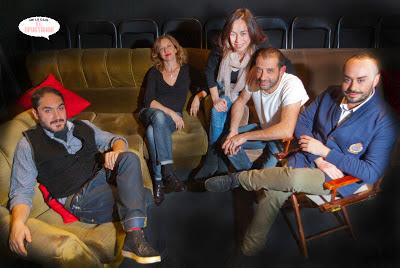 Sala Tú, Rubén Sintes, Alfonso Lara, Micaela Quesada, Gema Monja, David Sanchez y Borja Vera