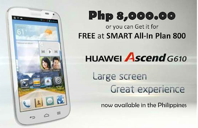 huawei ascend g610 at smart plan