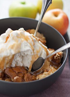 Apple Cake Sundae, shared by Honey and Birch