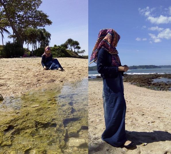Liburan di Pantai Karapyak Pangandaran