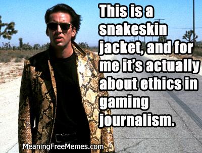 Nic Cage Snakeskin #ActuallyEthics