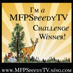 I'm a WINNER at MFP' Stamps Challenge