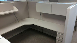 Used Allsteel office cubicles