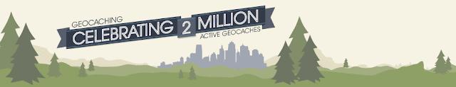 geocaching iki milyon kutu banner