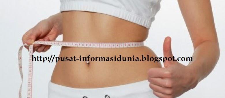 gambar cara mengecilkan perut buncit