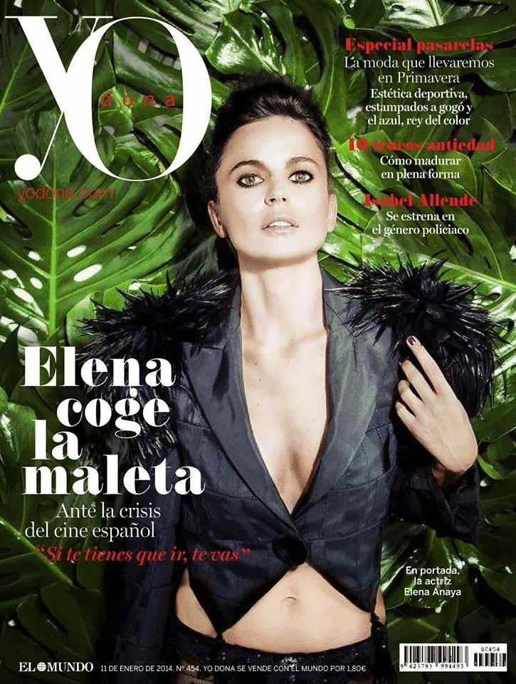 Magazine Photoshoot : Elena Anaya Photoshot For YO DONA Magazine Spain January 2014 Issue