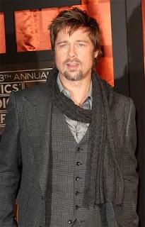 Brad Pitt Short Messy hairstyle