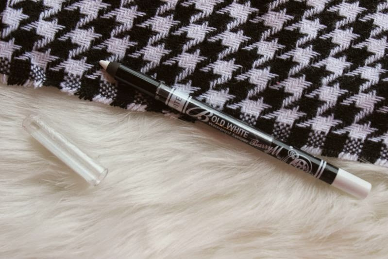 Barry M Bold White Waterproof Eyeliner