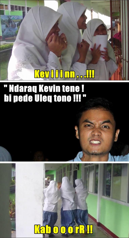 Meme FOSPAST - Kevin sesungguhnya dari film Sekejap!