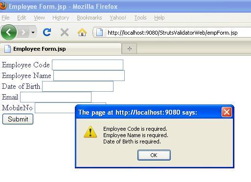 date validation using javascript