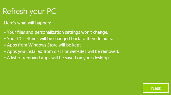 reset windows store windows 10