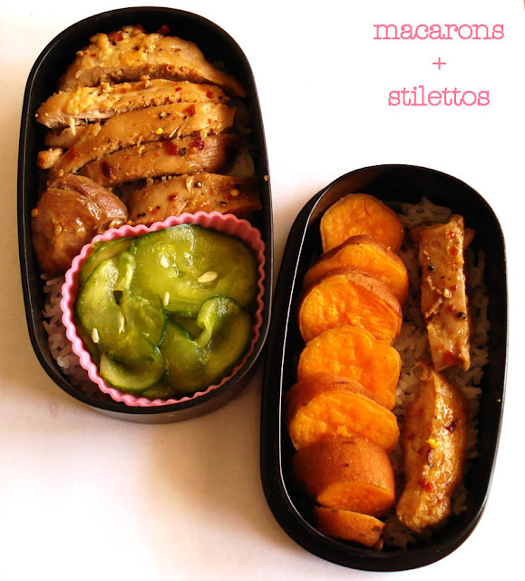 Chicken Kijiyaki Bento Box Lunch