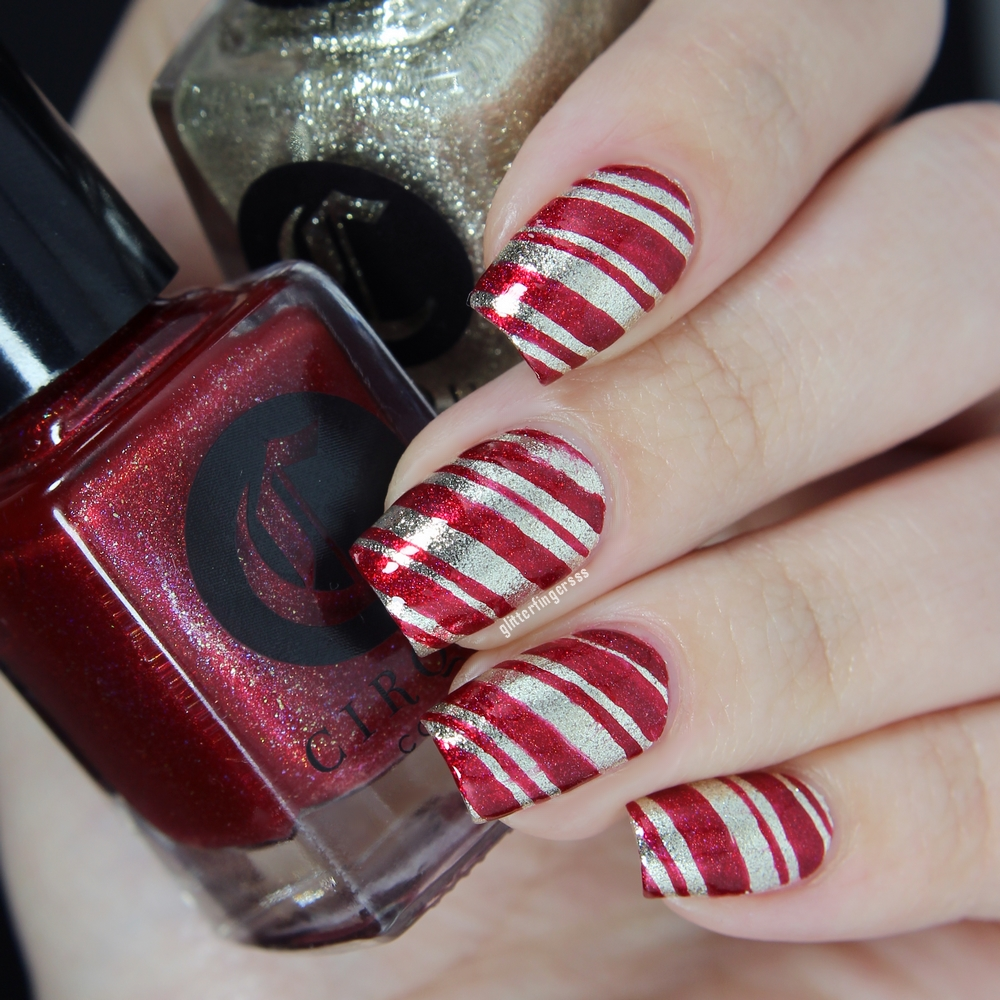 4 Festive Nail Art With Cirque Colors Nail Polishes