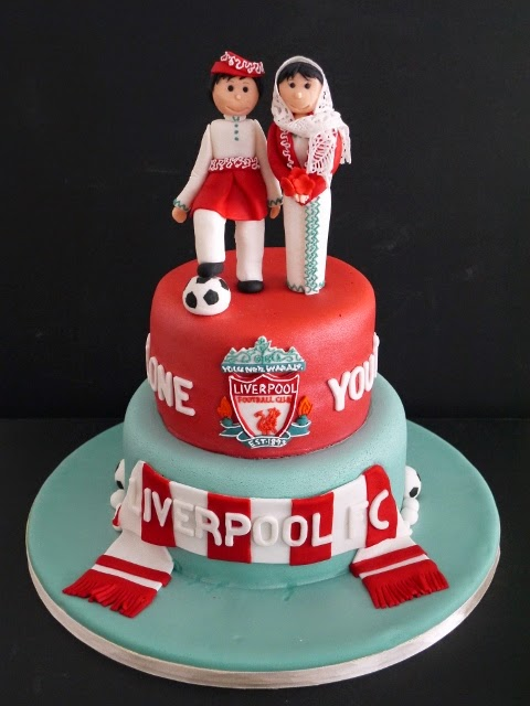 Liverpool Fc Wedding Cake Toppers