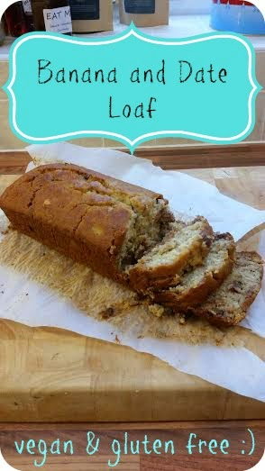 my general life banana and date loaf vegan gluten free dairy free ms cupcake
