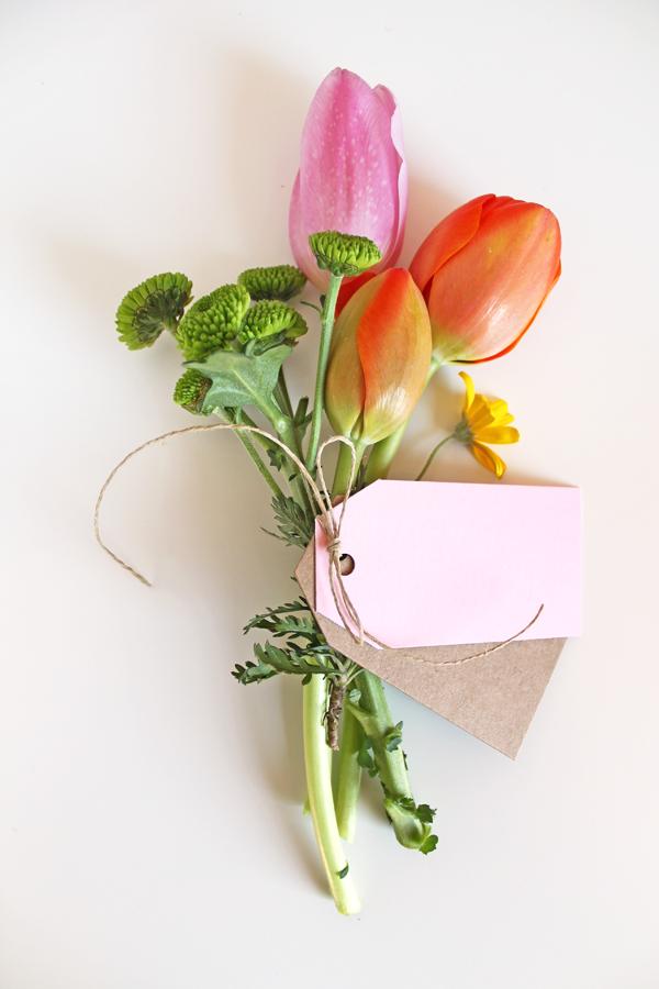DIY, Ramo de Flores para Regalar