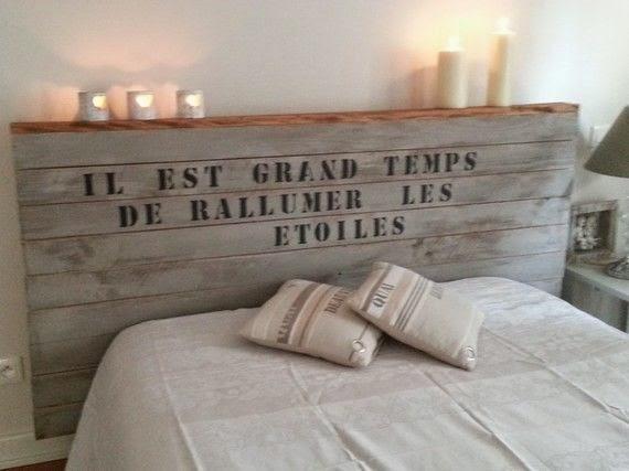 chambre, lit, tête de lit, pinterest, bullelodie