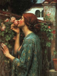 the soul of the rose<br> by John William Waterhouse