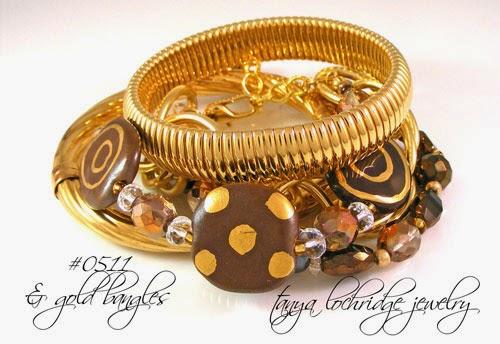 Kazuri Bead Coco Confection Collection Bracelet
