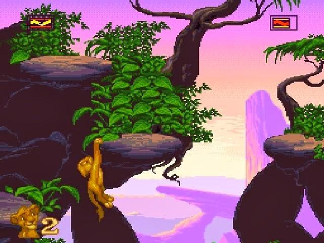 Retrô Game - The Lion King 5