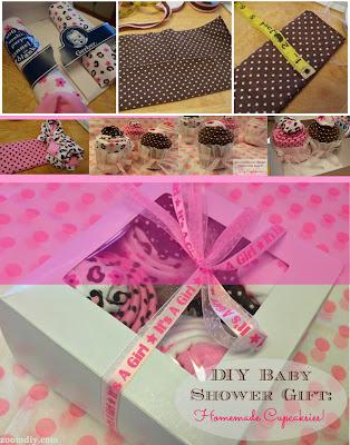 Handmade Baby Shower Cupcakesies Gift