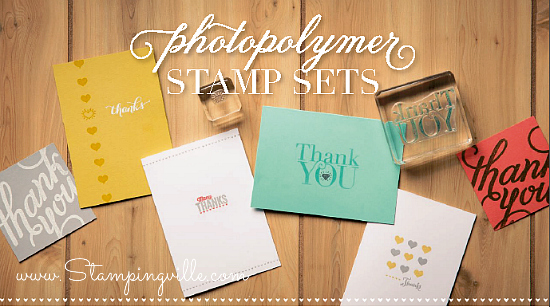 Stampin' Up! Another Thank You photopolymer stamp set