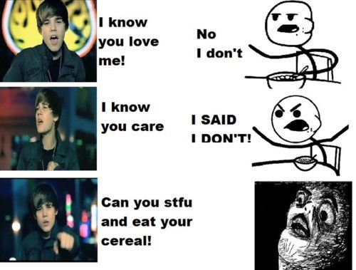 Can You STFU And Eat Your Cereal!
