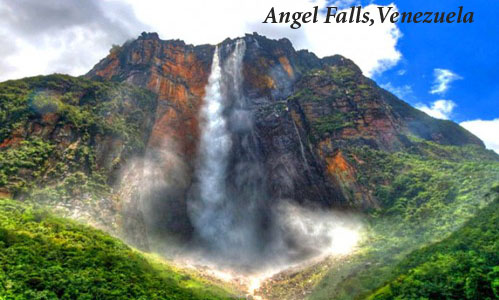 beautiful Angel waterfalls