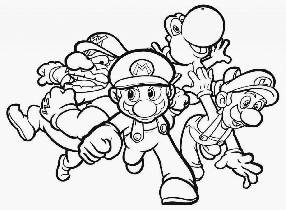 print cartoon coloring pages - photo#33