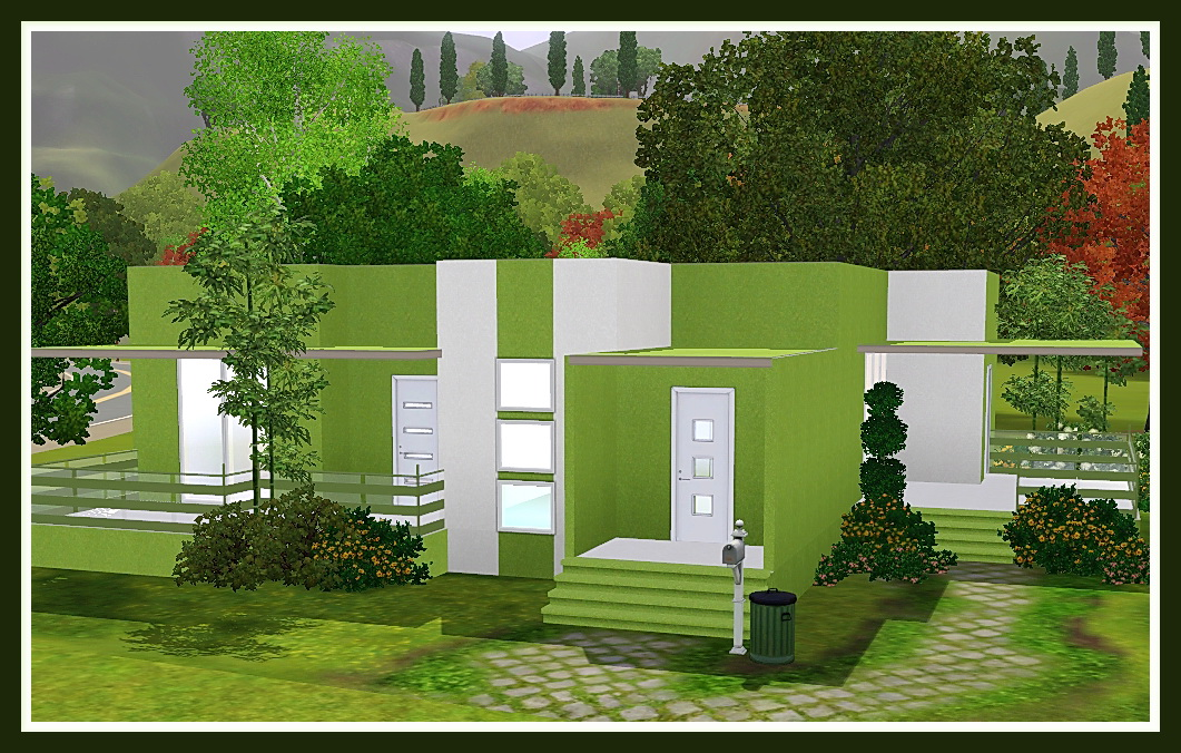 Minimalist House By Fianzoner 4simsfans