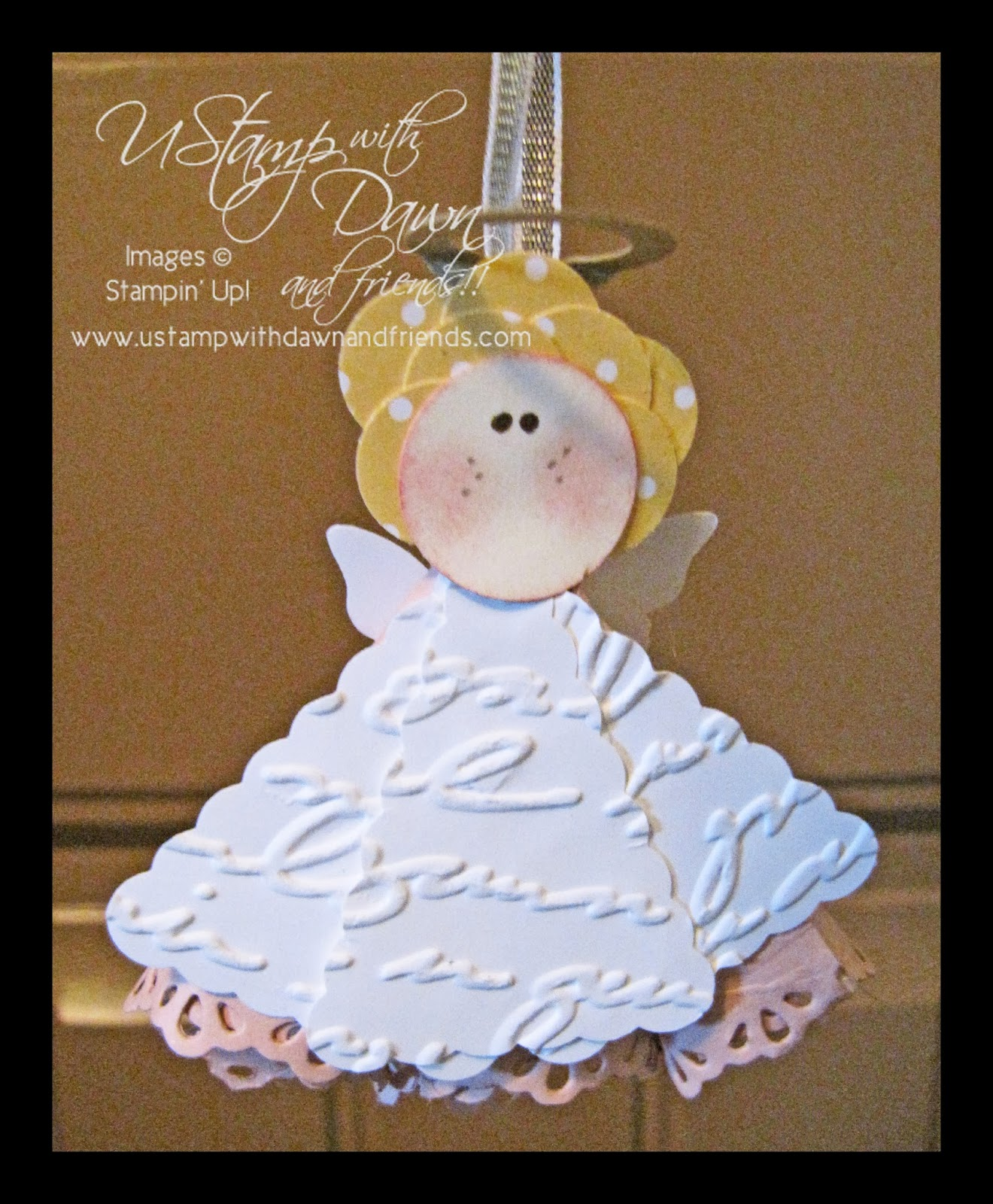 Porch swing creations christmas angel ornaments