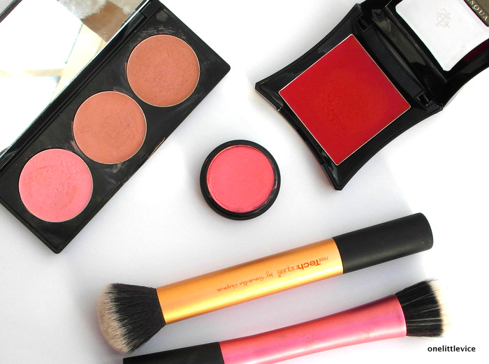 Step by Step guide on applying cream blush