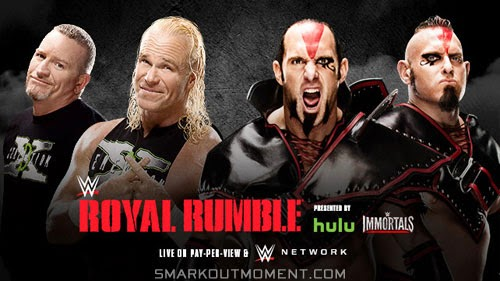 WWE Royal Rumble 2015 ppv Ascension vs New Age Outlaws