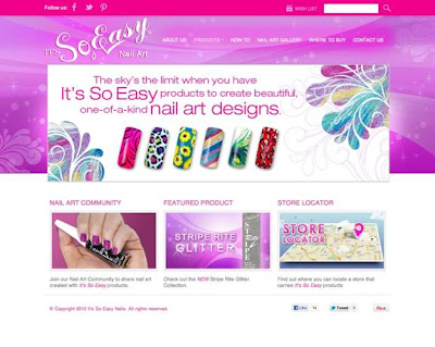It's So Easy Nail Art Designs