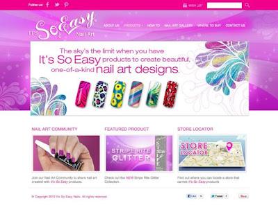 It's So Easy Nail Art Designs