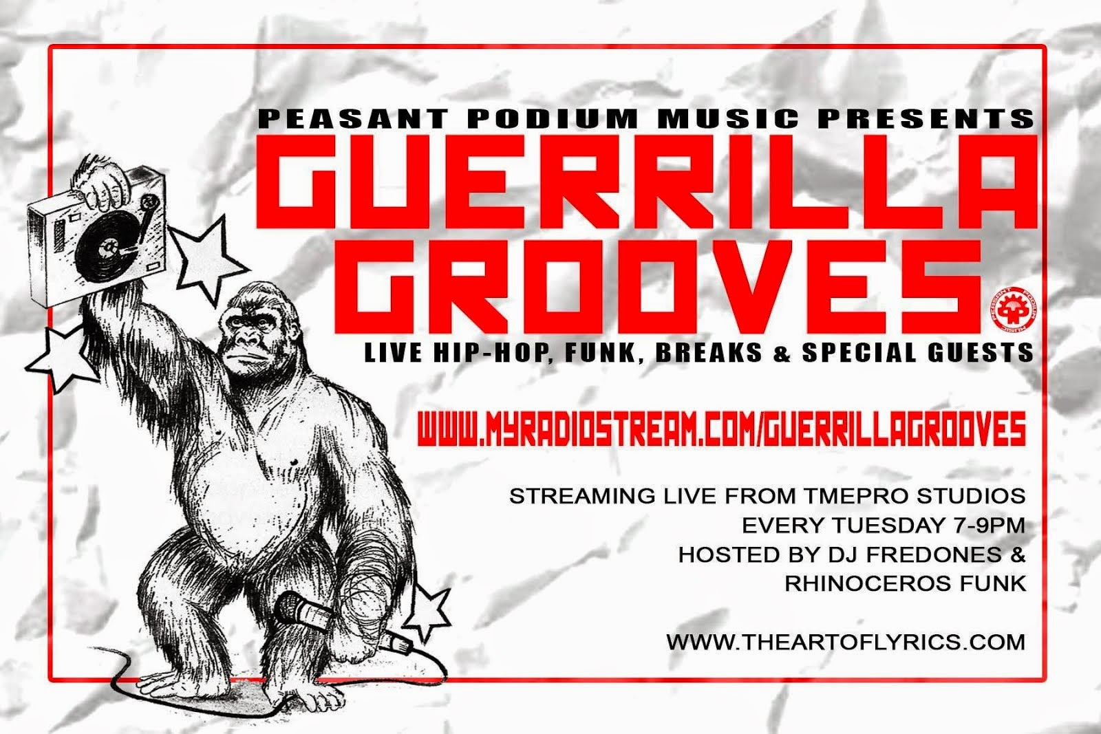 Guerrilla Grooves Radio Show
