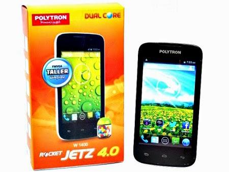 Jual Smartphone Baru Polytron Rocket Jetz 4.0 W1400