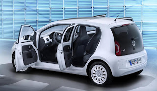 Volkswagen Up! 5-Door (2012) Rear Side