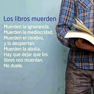 Los libros muerden
