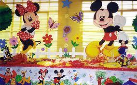 DECORACIÓN CON MICKEY MOUSE decoracionesparafiestasinfantiles.blogspot.com/
