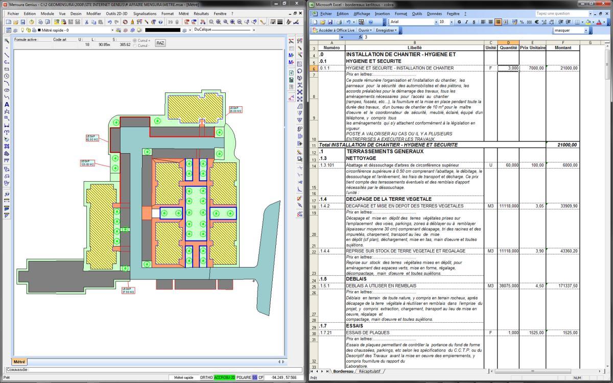 Construction maison xls - Descriptif construction maison individuelle ...