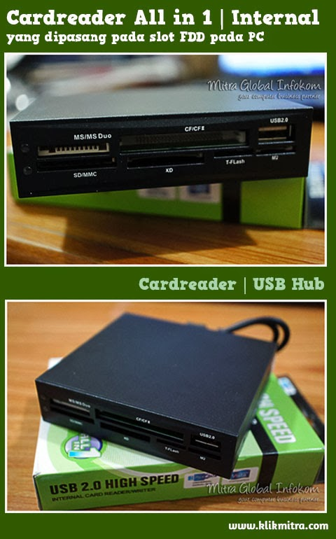 Card Reader Internal untuk PC