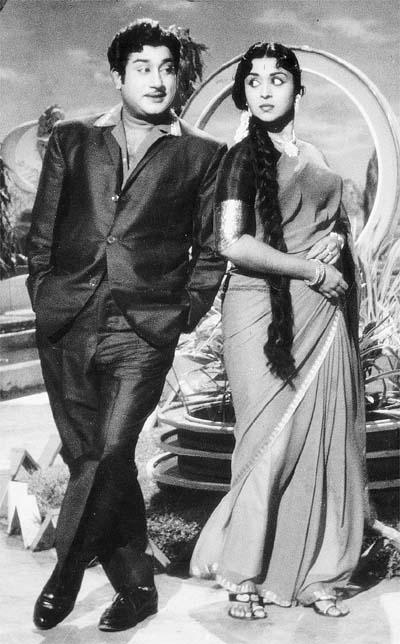 Shivaji Ganesan & Saroja Devi