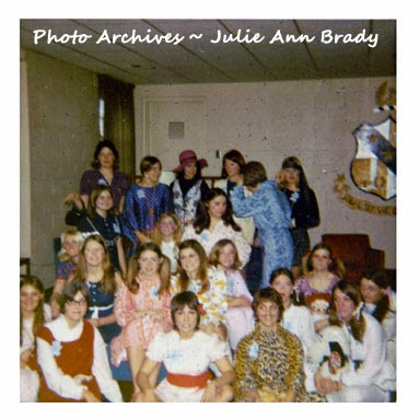 ONU Zeta Tau Alpha - Rush Party at Alpha Sigma Phi - January 10, 1971