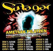 Conciertos presentación de Sutagar Ametsak Pilatzen