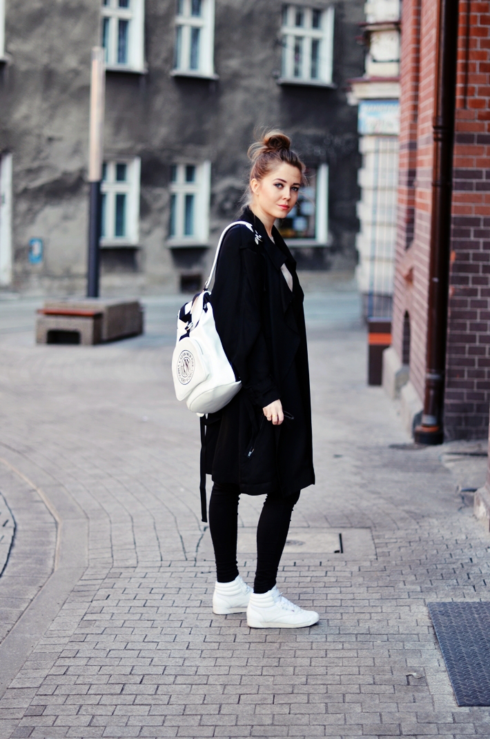 Todays Outfit Dkny Backpack Reebok Classic Jestem Kasia Blog