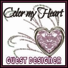 I was a Color My Heart Guest Designer!
