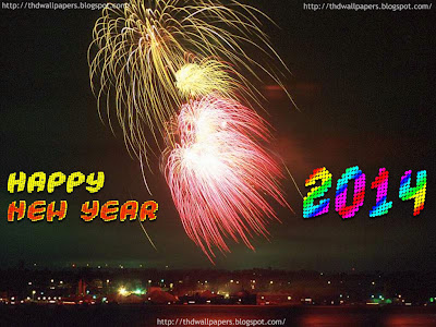 Happy New Year Celebration and Wallpapers 2014