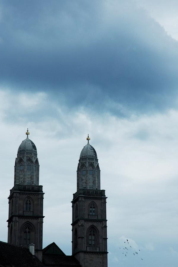 Zürich Münster Grossmünster Großmünster Kirche
